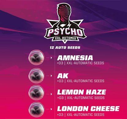 Description du kit Psycho XXL Automix du weed seed shop