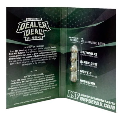 Emballage du kit Dealer Deal XXL du weed seed shop