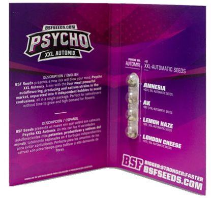 Emballage du kit Psycho XXL Automix du weed seed shop