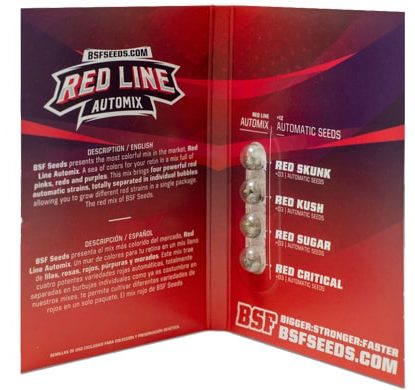 Emballage du kit Red Line Automix du weed seed shop
