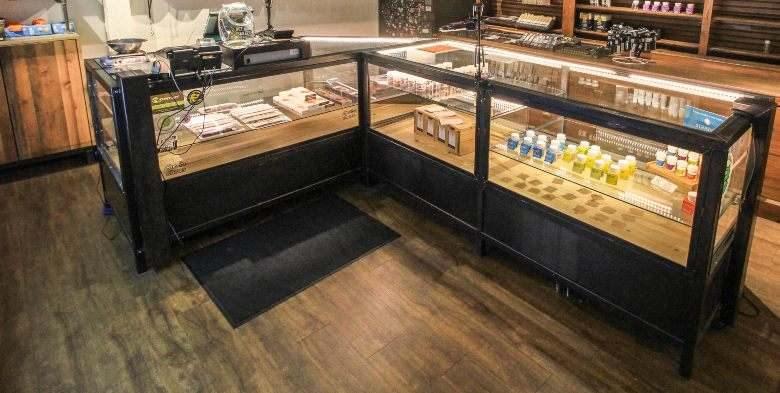 Un magasin de graines de cannabis