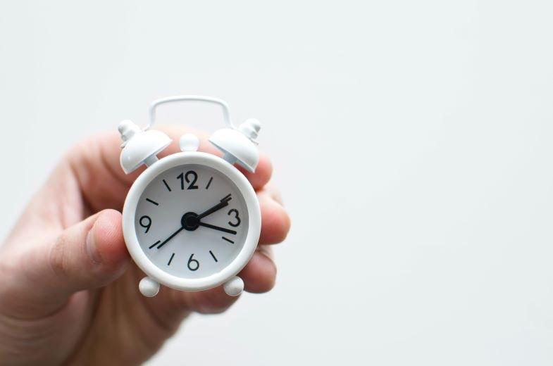 Horloge pour marquer les heures du jour pour la marijuana