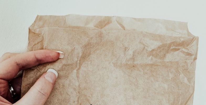 Sac en papier pour sécher la marijuana